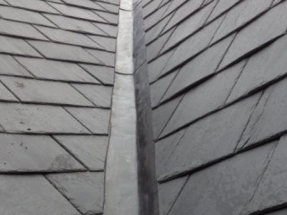 Tiled roofing and slate roofing